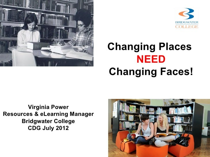 Changing Places                                    NEED                                Changing Faces!        Virginia Pow...