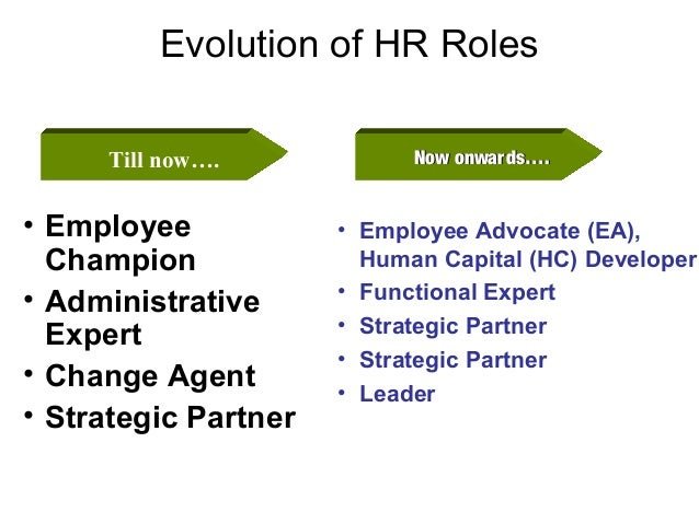 changing role of human resources essay