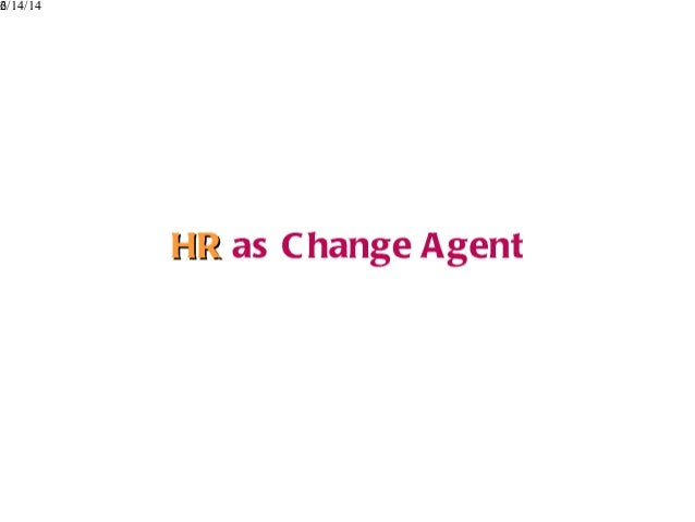changing role of human resource management the Research and practice in human resource management is an  the changing role of hr  downsizing and outplacement the role of human resource management.
