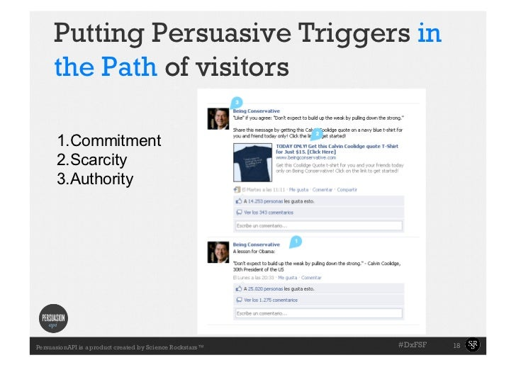 Putting Persuasive Triggers in     the Path of visitors      1.Commitment      2.Scarcity      3.Authority             ...