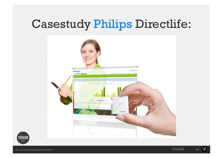 Casestudy Philips Directlife:      •Slide with the        towell exampleBeta Launch presentations Q2 2012      #DxFSF   34