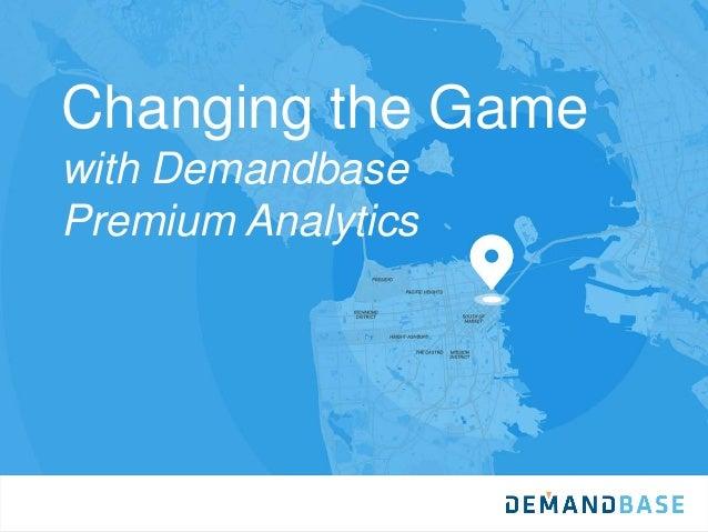 Changing the Game with Demandbase Premium Analytics