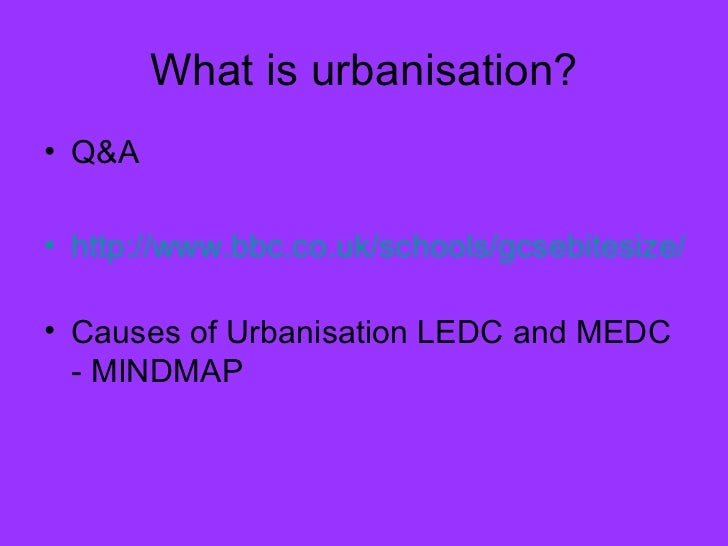 changing urban environments revision A secondary school revision source for gcse geography on the topic of urbanisation, settlement characteristics and urban environments across the globe.