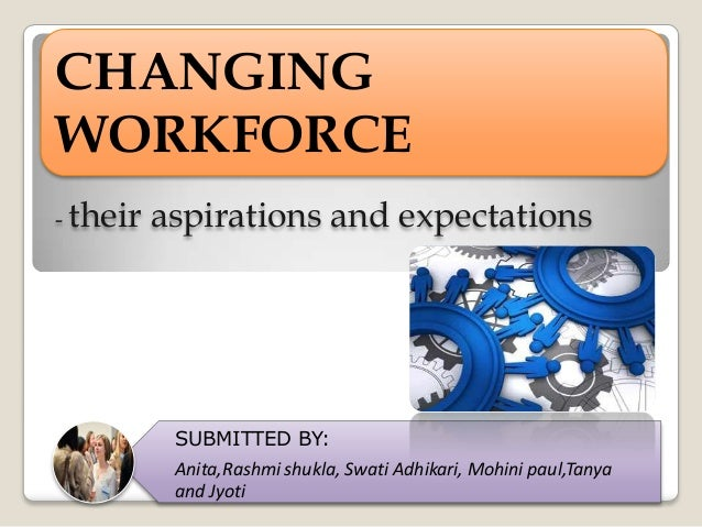 changing workforce The changing workforce the makeup of the workforce is shifting and will continue to do so in nearly every respect significant alterations in the pool of available talent will occur both in measurable demographics and in the accompanying worker attitudes and preferences 21st century human capital management: adapting to the.