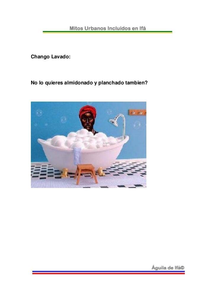 Chango lavado no lo quieres almidonado y planchado tambien - Lavado y planchado ...