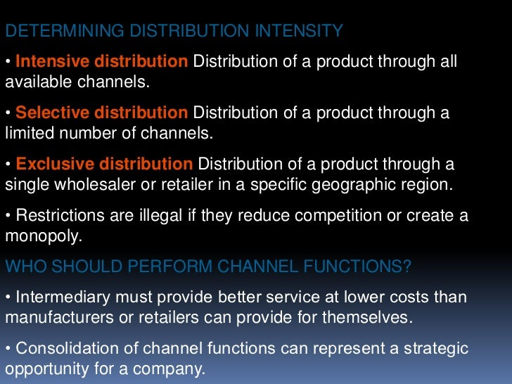 Risk taking</li></li></ul><li>Physical Distribution - Nature and Importance<br /><ul><li>Physical distribution: Moving tan...