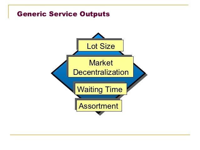 Generic Service Outputs                Lot Size                Lot Size                 Market                 Market     ...