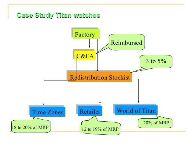 Case Study Titan watches                      Factory                      Factory                                     Rei...