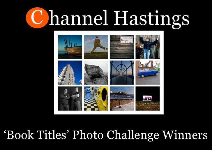 'Book Titles' Photo Challenge Winners