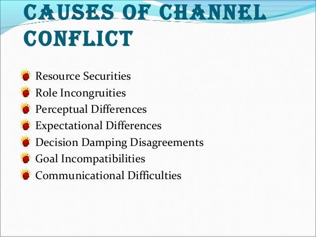 channel conflict definition