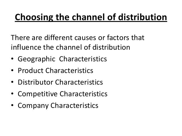 what three factors should be considered when designing marketing channels View t5 dq 2 from mkt 245 at grand canyon university of arizona topic 5 dq 2 what are the characteristics of marketing channels what 3 factors should be considered when designing one.