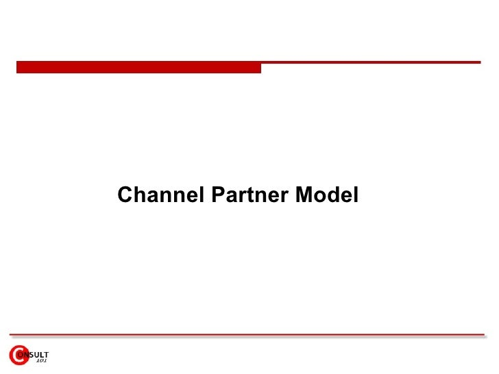 Channel Partner Model