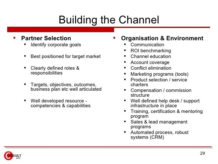 importance of channel partners