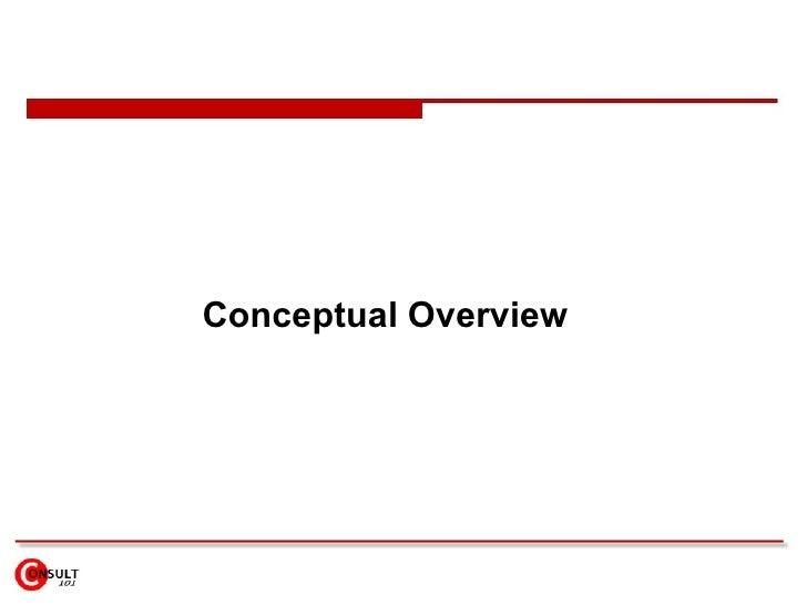 Conceptual Overview