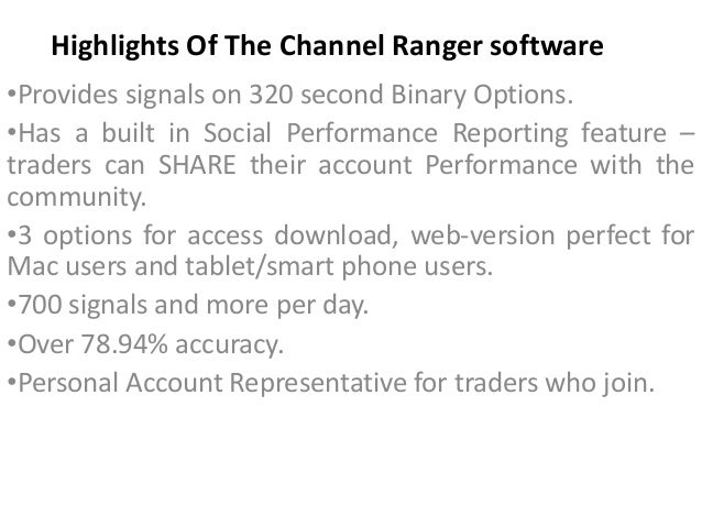 Channel ranger binary options bulldozer mining bitcoins