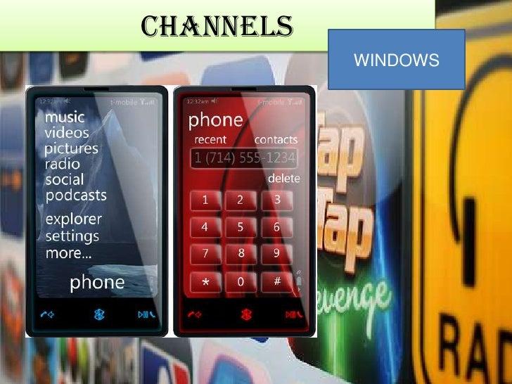 Channels<br />WINDOWS<br />