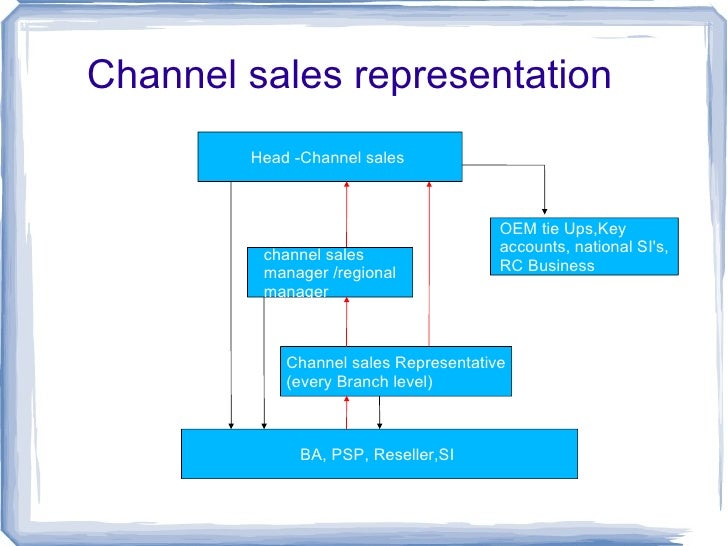 Channel Sales Structure For Ups Product