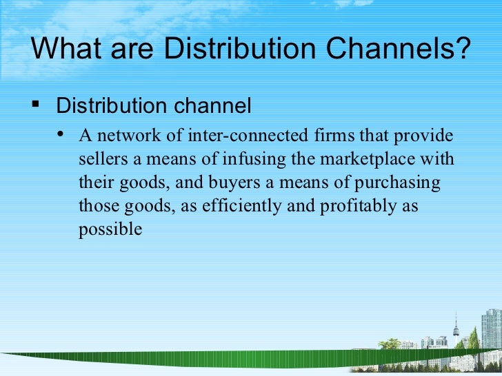 Factors affecting choice of distribution channels ǁ marketing.