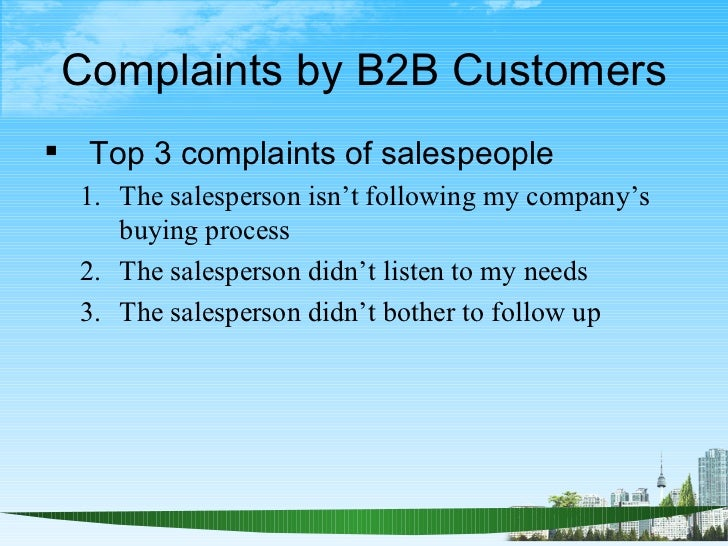 salesperson duties