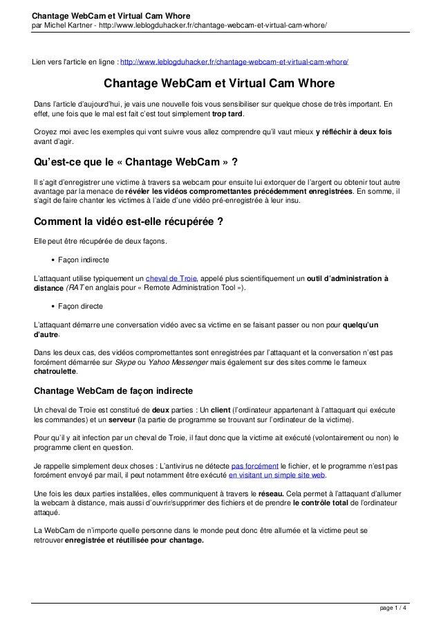 Chantage WebCam et Virtual Cam Whore par Michel Kartner - http://www.leblogduhacker.fr/chantage-webcam-et-virtual-cam-whor...