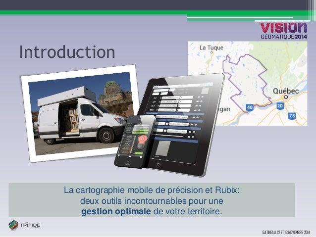 Réalisez efficacement vos inventaires municipaux avec l'utilisation de la cartographie mobile Slide 2