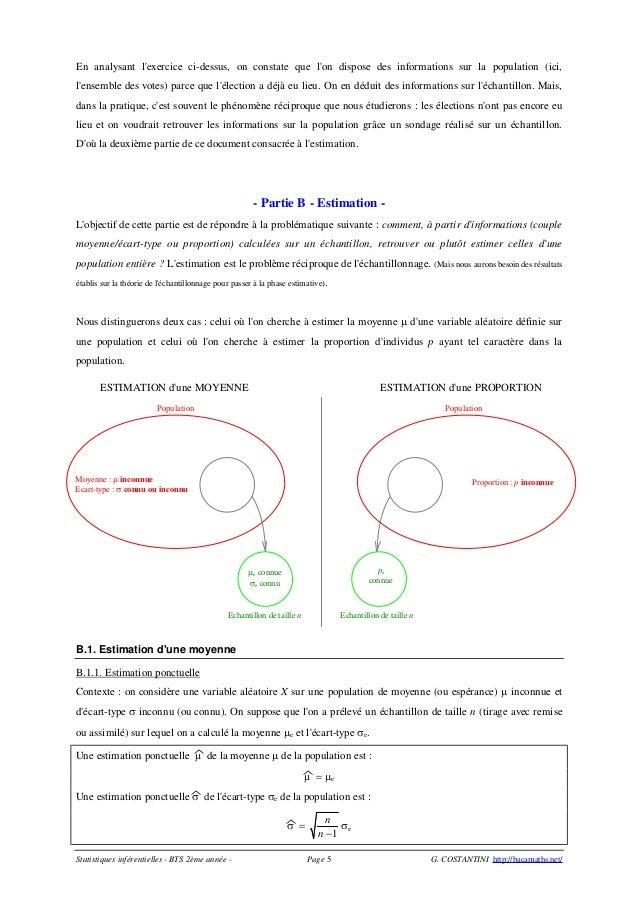 Chantillonnage estimation - Comment lire la table de la loi normale ...