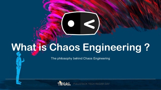 Chaos is a ladder ! Slide 3