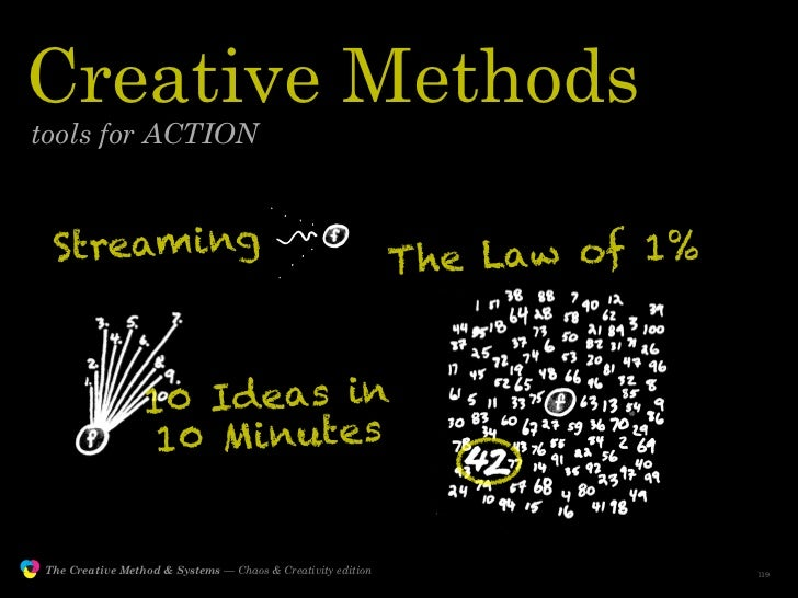 Creative Methods         tools for ACTION                    Streaming                                                   T...