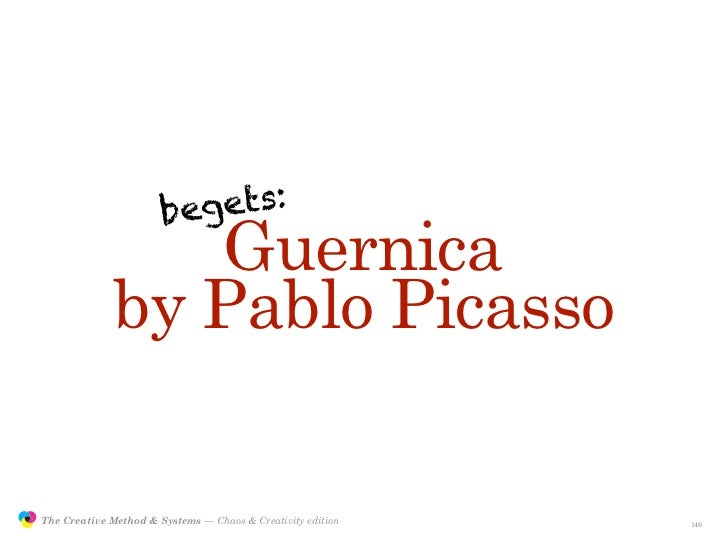 beg ets:                                 Guernica                              by Pablo Picasso                 The Creati...