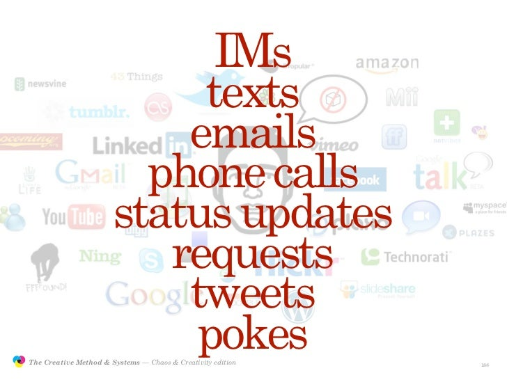 IMs                                            texts                                           emails                     ...
