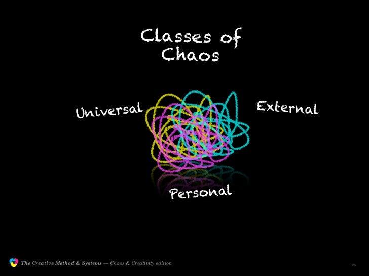 Classes of                                                               C haos                                           ...