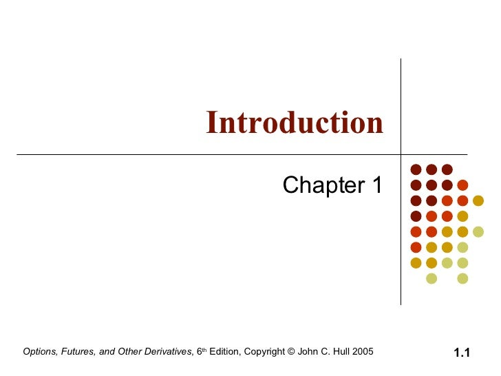 Introduction Chapter 1
