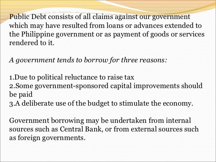 examples of fiscal policy in the philippines
