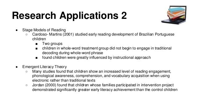 """two theories of literacy development Parents, children, siblings, early childhood, deficit theory, storybook reading,   taught literacy skills rather, parents immersed their children in daily literacy   and of construing families as """"two or more people related by blood, marriages."""