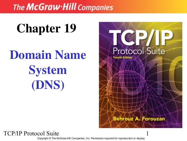 TCP/IP Protocol Suite 1 Copyright © The McGraw-Hill Companies, Inc. Permission required for reproduction or display. Chapt...