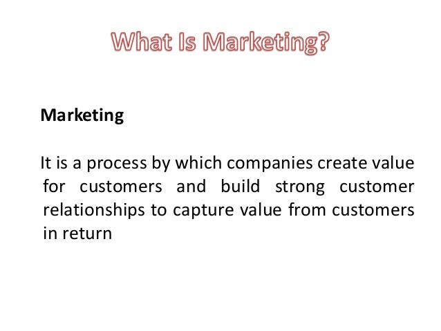 creating and capturing customer value Chapter 1 -marketing creating and capturing customer value - download as word doc (doc), pdf file (pdf), text file (txt) or read online marketing.