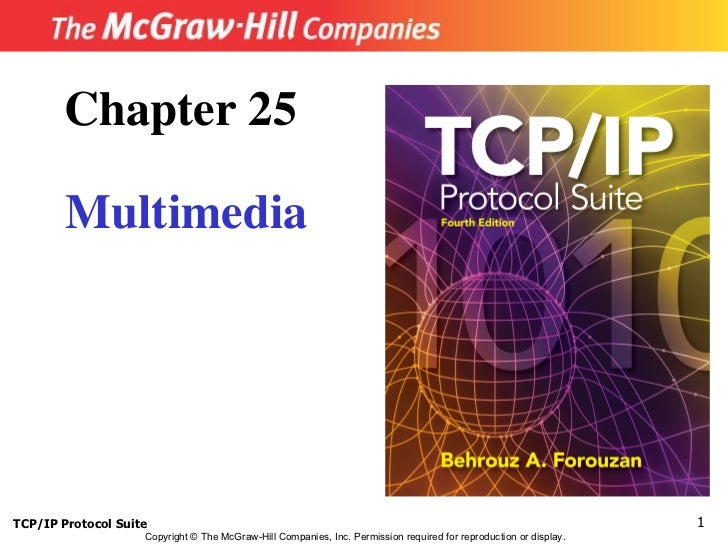 Chapter 25        MultimediaTCP/IP Protocol Suite                                                                         ...