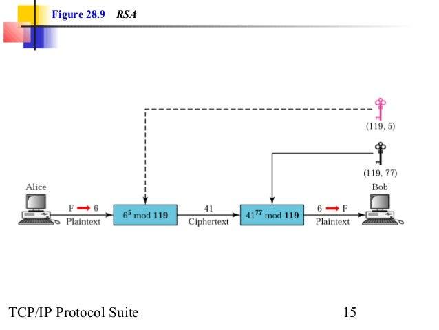 Figure 28.9 RSA  TCP/IP Protocol Suite 15