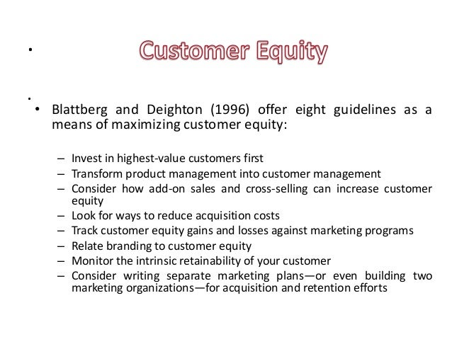 "customer based brand equity in motor We focus on customer-based brand equity defined as ""the differential  milward  brown's brandz or research international's equity engine."