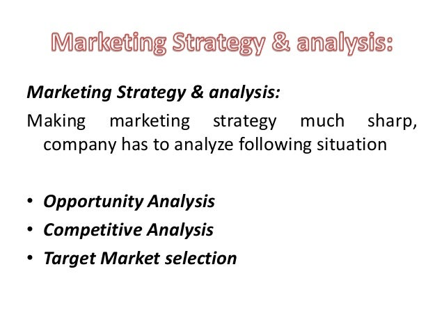 using the appropriate targeting strategy in the target market selection process An important component of marketing strategy is the concept of market  a company's target market a target market refers to the  target market also.
