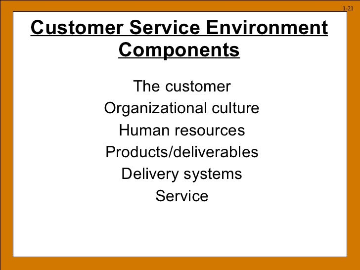 service environment examples