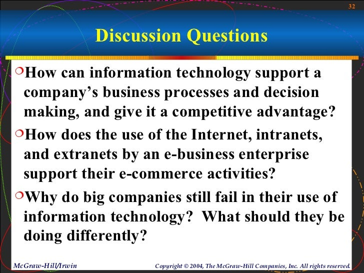 how does the use of internet intranets and extranets by an e business enterprise support their e com The use of groupware tools and the internet, intranets, extranets, and other computer networks to support and enhance communication, coordination, collaboration, and resource sharing among teams and workgroups in an inter-networked enterprise.