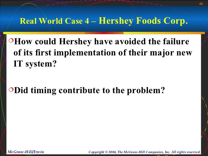 case 44 hershey foods corp Ball v hershey foods corp, 14 f3d 591 (2d cir 1993) case opinion from the us court of appeals for the second circuit.