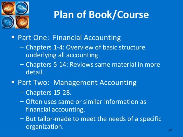 nature and purpose of accounting The impact of accounting information on management's decision-making process a case study 31 nature, scope and purpose of management accounting.