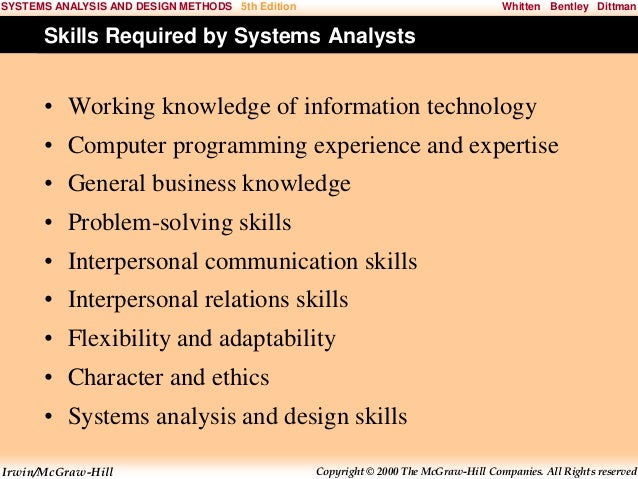 System Analysis And Design Chap001