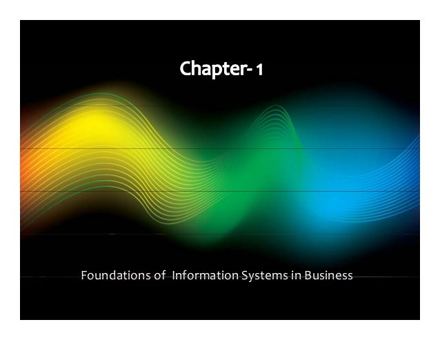 information systems in 2010s study notes
