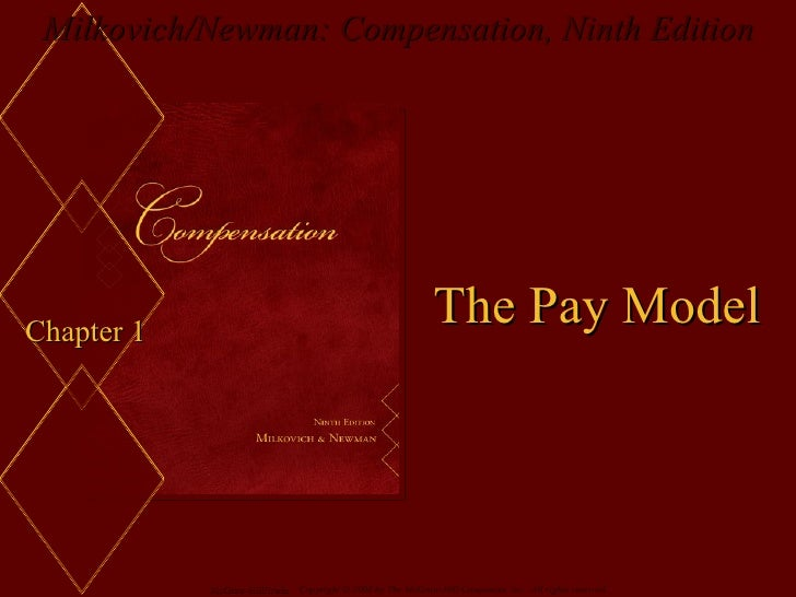 Chapter 1 The Pay Model