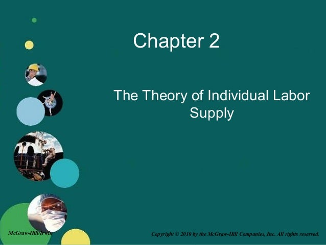 Copyright © 2010 by the McGraw-Hill Companies, Inc. All rights reserved.McGraw-Hill/Irwin Chapter 2 The Theory of Individu...