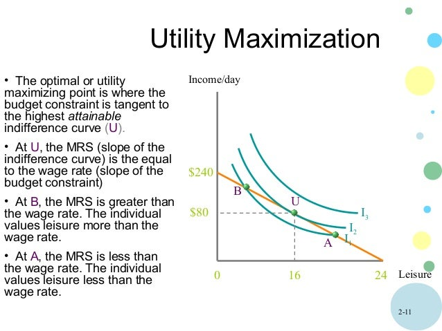 utility maximazation The first important use of the expected utility theory was that of john von neumann and oskar morgenstern, who used the assumption of expected utility maximization in their formulation of game theory.