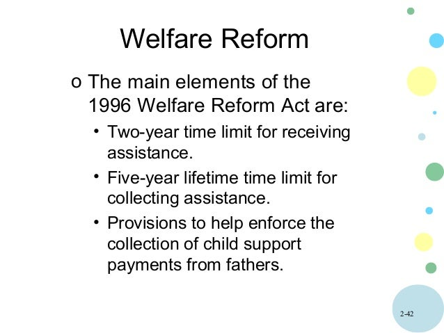 does welfare reform help or hurt Washington eyes welfare reform  made long ago and eliminating waste and fraud in the system might help secure its could hurt children dependent on.